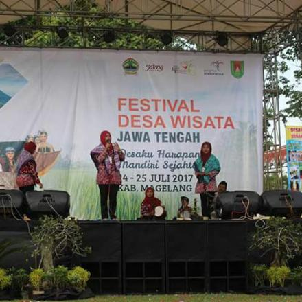 Festival Desa Wisata Tingkat Jawa Tengah 2017